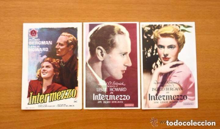Cine: Cine - Ingrid Bergman - 97 programas y postales - Ver fotos y explicación interior - Foto 31 - 98827403