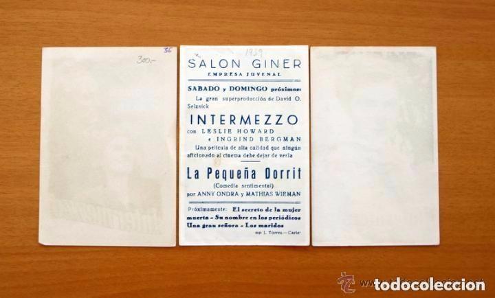 Cine: Cine - Ingrid Bergman - 97 programas y postales - Ver fotos y explicación interior - Foto 32 - 98827403