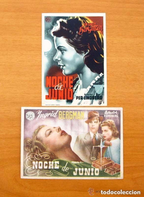 Cine: Cine - Ingrid Bergman - 97 programas y postales - Ver fotos y explicación interior - Foto 33 - 98827403