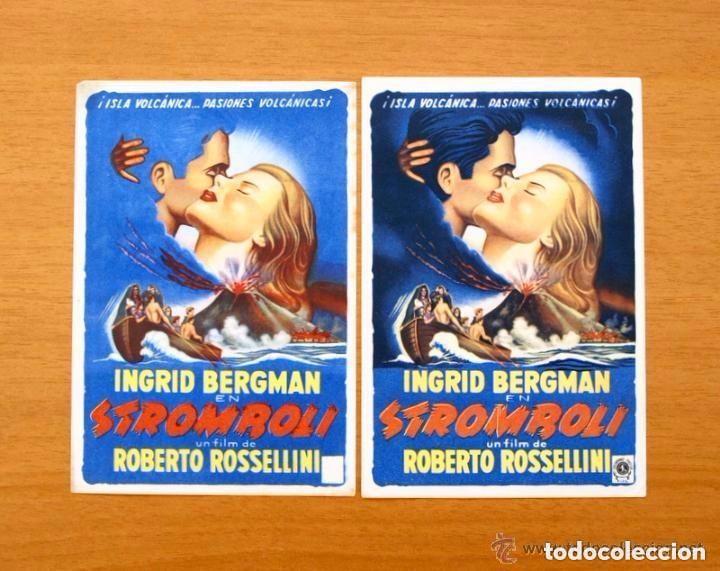 Cine: Cine - Ingrid Bergman - 97 programas y postales - Ver fotos y explicación interior - Foto 35 - 98827403