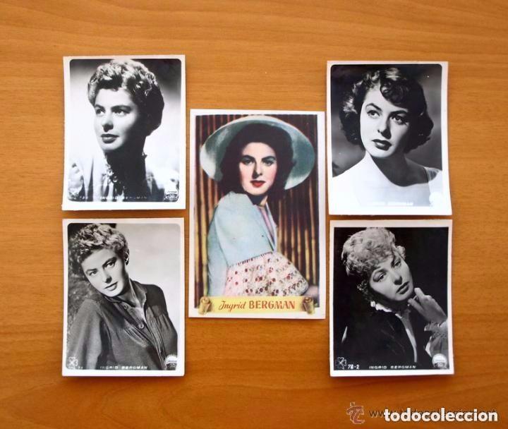 Cine: Cine - Ingrid Bergman - 97 programas y postales - Ver fotos y explicación interior - Foto 39 - 98827403