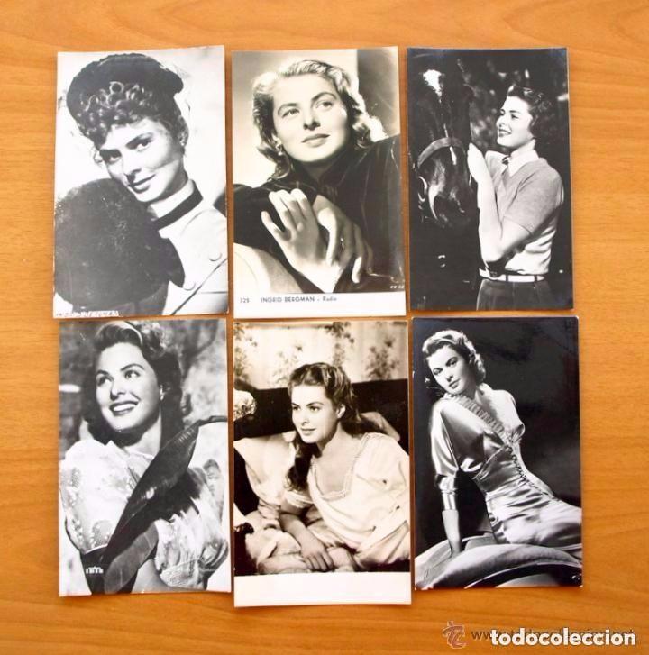 Cine: Cine - Ingrid Bergman - 97 programas y postales - Ver fotos y explicación interior - Foto 41 - 98827403