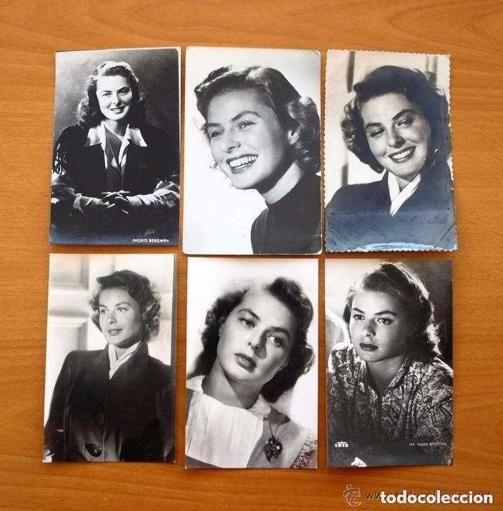 Cine: Cine - Ingrid Bergman - 97 programas y postales - Ver fotos y explicación interior - Foto 43 - 98827403