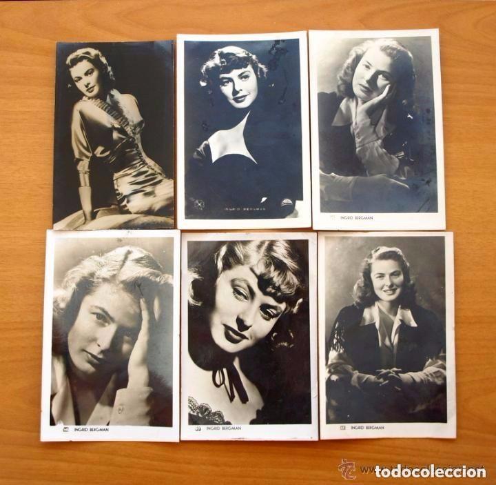 Cine: Cine - Ingrid Bergman - 97 programas y postales - Ver fotos y explicación interior - Foto 45 - 98827403