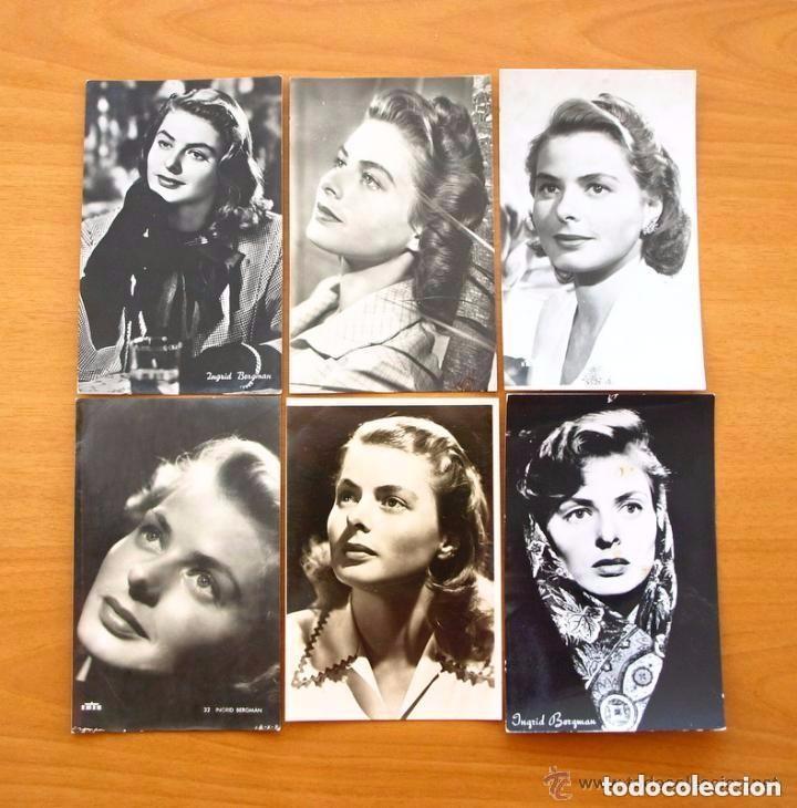 Cine: Cine - Ingrid Bergman - 97 programas y postales - Ver fotos y explicación interior - Foto 47 - 98827403
