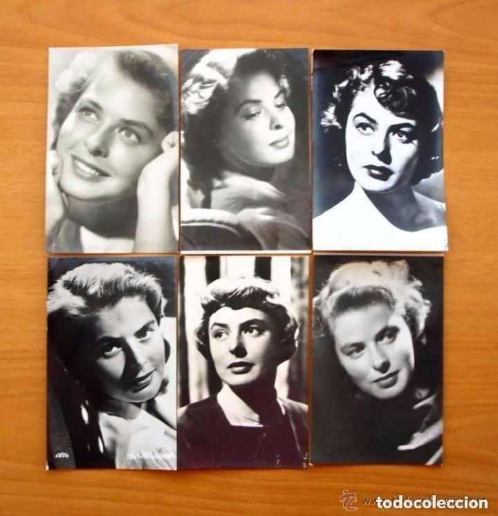 Cine: Cine - Ingrid Bergman - 97 programas y postales - Ver fotos y explicación interior - Foto 49 - 98827403