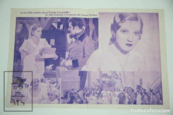 Cine: Programa de Cine Doble - Vuelan Mis Canciones - U Films, Año 1934 - Foto 2 - 98834903