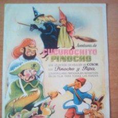 Cine: CUCURUCHITO Y PINOCHO. Lote 99093034