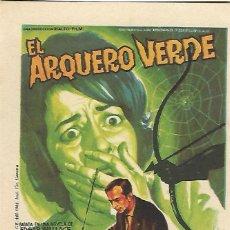 Cine: EL ARQUERO VERDE. Lote 99262691