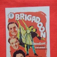 Cine: BRIGADOON, IMPECABLE SENCILLO, GENE KELLY VAN JOHNSON,CINE MONTERROSA. Lote 99461159