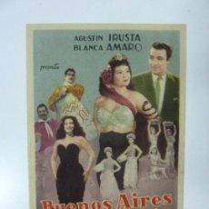 Cine: BUENOS AIRES A LA VISTA. CON PUBLICIDAD. Lote 99519731