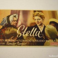 Cine: STELLA , ZULLY MORENO, SIN PUBLICIDAD. Lote 99532871