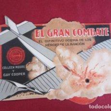 Cine: EL GRAN COMBATE - PROGRAMA CON MOVIMIENTO. Lote 99670383