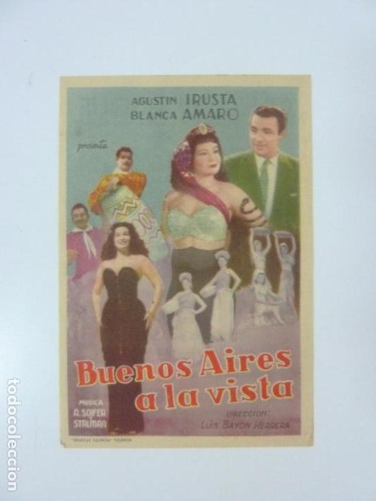 BUENOS AIRES A LA VISTA. CON PUBLICIDAD (Cine - Folletos de Mano - Musicales)