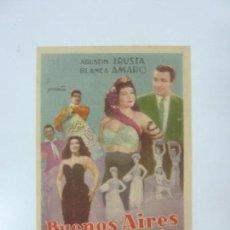 Cine: BUENOS AIRES A LA VISTA. CON PUBLICIDAD. Lote 99794799