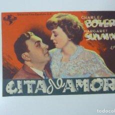 Cine: CITA DE AMOR. CHARLES BOYER. CON PUBLICIDAD. Lote 99796071
