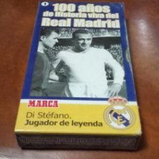 Cine: VHS 100 AÑOS. DI STÉFANO. MARCA.. Lote 99829131
