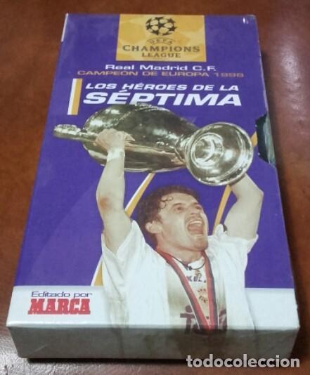 VHS. LA SÉPTIMA. (Cine - Folletos de Mano - Deportes)