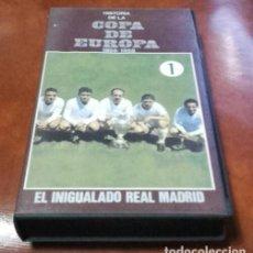 Cine: VHS. HISTORIA DE LA COPA DE EUROPA. . Lote 99829643
