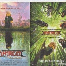 Cine: LA LEGO NINJAGO. Lote 187641391