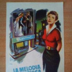Cine: LA MELODIA MISTERIOSA. Lote 99847846