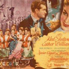 Cine: ESCUELA DE SIRENAS - ESTHER WILLIAMS - XAVIER CUGAT - METRO GOLDWYN MAYER. Lote 100086727