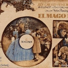 Cine: EL MAGO DE OZ - JUDY GARLAND - METRO GOLDWYN MAYER. Lote 100088055