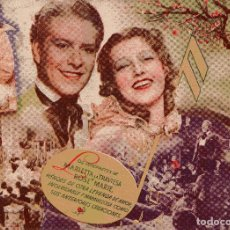 Cine: PRIMAVERA - JEANETTE MACDONALD & NELSON EDDY & JOHN BARRYMORE - METRO GOLDWYN MAYER. Lote 100090199