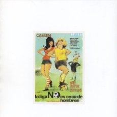 Cine: LA LIGA NO ES COSA DE HOMBRES. Lote 100205291