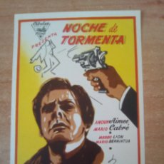 Cine: NOCHE DE TORMENTA. Lote 100708854