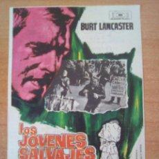 Cine: LOS JOVENES SALVAJES SIN CENSURA. Lote 100720919