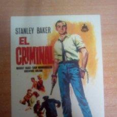 Cine: EL CRIMINAL. Lote 100764066