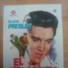 Cine: EL INDOMITO - ELVIS -. Lote 100879788