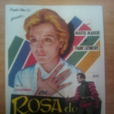 Cine: ROSA DE LIMA - FRANK LATIMORE -. Lote 100886584