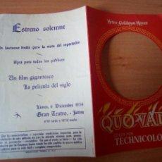 Cine: QUO VADIS. Lote 100983507