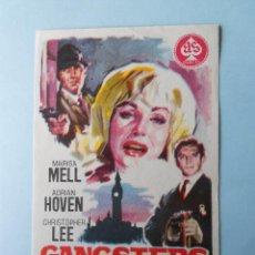 Cine: GANGSTERS EN LONDRES (MARISA MELL / ADRIAN HOVEN) MUY BUEN ESTADO. Lote 101179087