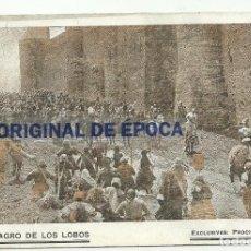Cine: (PG-171000)PROGRAMA DE CINE EL MILAGRO DE LOS LOBOS - CINE COLISEUM. Lote 101307539