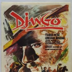 Cine: DIANGO, CON FRANCO NERO. Lote 101448379