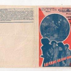 Cine: LA CASA DE LOS MUERTOS, DOBLE, AÑOS 30, HOWARD PHILIPS, PRESTON FOSTER. Lote 101448739