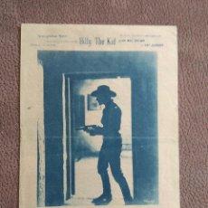 Cine: PROGRAMA DOBLE DE CINE --BILLY THE KID. Lote 101462579