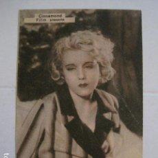 Cine: LA HIJA DEL REGIMIENTO - TARJETA CARTON - CINE PICAROL- AÑO 1934 -VER FOTOS- (C-4012). Lote 101486015