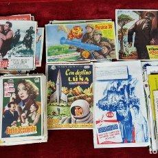 Cine: COLECCIÓN DE 353 PROGRAMAS DE CINE. ESPAÑA. AÑOS 40/50 Y 60. . Lote 101539171