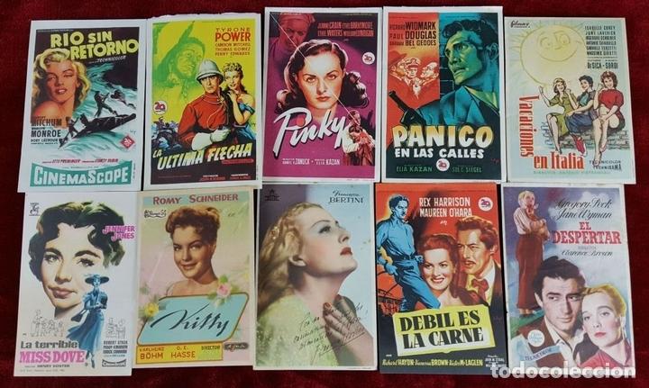 Cine: COLECCIÓN DE 353 PROGRAMAS DE CINE. ESPAÑA. AÑOS 40/50 Y 60. - Foto 5 - 101539171