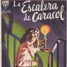 Cine: PROGRAMA DE MANO LA ESCALERA DE CARACOL CON PUBLICIDAD. Lote 101554899