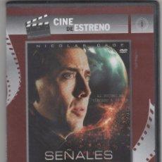 Cine: NICOLAS CAGE. SEÑALES DEL FUTURO.. Lote 101989031