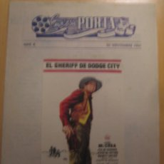 Cine: EL SHERIFF DE DOGDE CITY JOEL MCCREA FOLLETO DE MANO LOCAL CINES ALEGRIA Y CATALUÑA TERRASSA. Lote 102277075