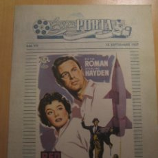 Cine: RED INVISIBLE RUTH ROMAN STERLING HAYDEN FOLLETO DE MANO LOCAL CINES ALEGRIA Y CATALUÑA TERRASSA. Lote 102277159