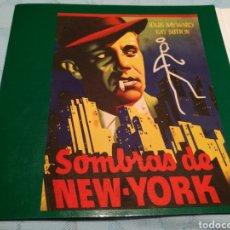 Cine: LAMINA FILMOFONO SOMBRAS DE NUEVA YORK . NÚMERO 11. Lote 102540964