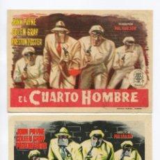 Cine: EL CUARTO HOMBRE, CON JOHN PAYNE.. Lote 102573835