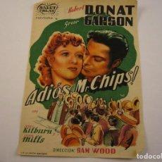 Cine: ¡ADIÓS, MR. CHIPS! JERRY KILBURN Y JOHN MILLS. Lote 102585771